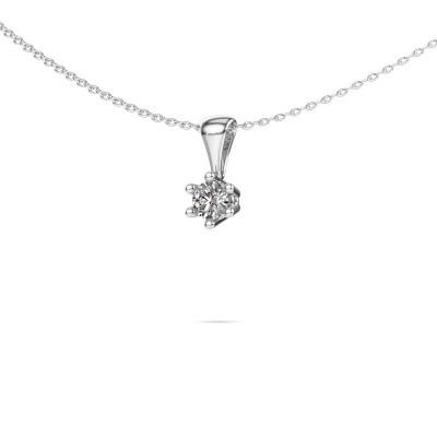 Foto van Ketting Fay 925 zilver diamant 0.25 crt