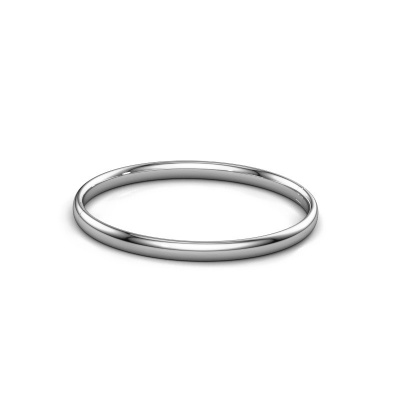 Photo de Bracelet jonc Jane 5mm 950 platine