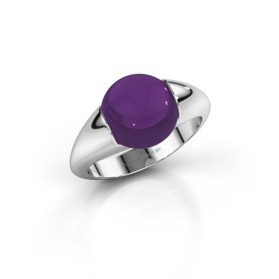 Picture of Ring Robine 375 white gold amethyst 10 mm