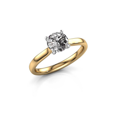 Foto van Verlovingsring Mignon rnd 1 585 goud diamant 1.00 crt