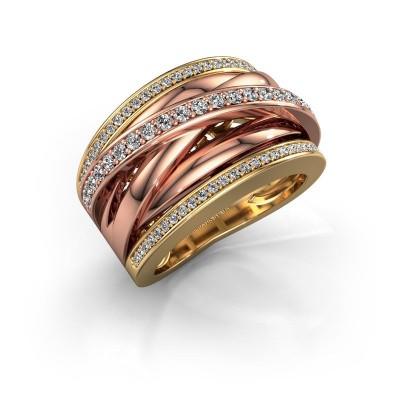 Foto van Ring Clair 2 585 goud diamant 0.565 crt