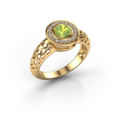 Picture of Ring Katalina 585 gold peridot 5 mm