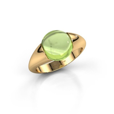 Picture of Ring Robine 585 gold peridot 10 mm
