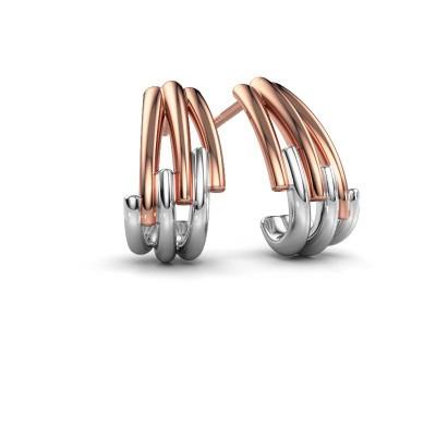 Earrings Renske 585 rose gold