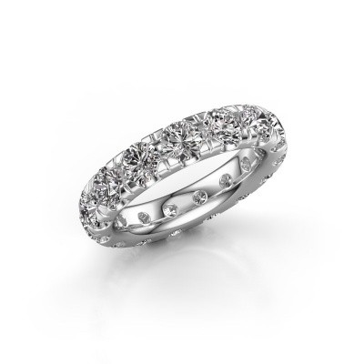 Picture of Stackable ring Jackie 4.2 585 white gold lab-grown diamond 4.50 crt