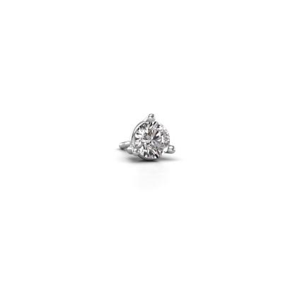 Foto van Heren oorbel Jorn 950 platina diamant 0.40 crt