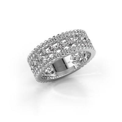 Verlobungsring Elizbeth 2 925 Silber Diamant 1.785 crt