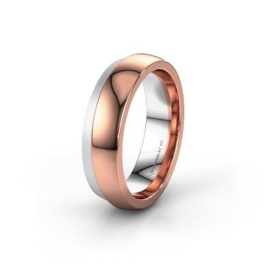 Wedding ring WH6004M26C 585 rose gold ±0.24x0.09in