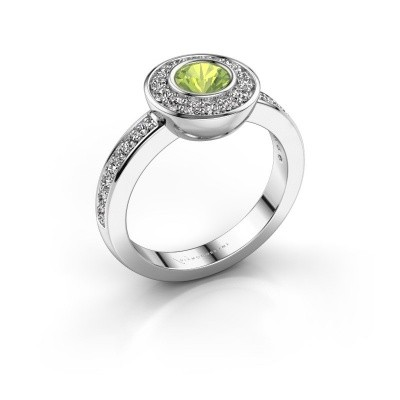 Ring Ivy 925 Silber Peridot 5 mm