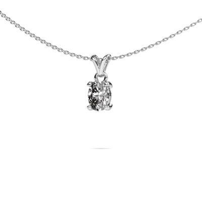 Foto van Ketting Lucy 1 950 platina diamant 0.80 crt