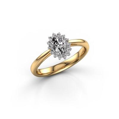 Foto van Verlovingsring Tilly 1 585 goud diamant 0.50 crt
