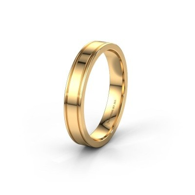 Trouwring WH2110M14A 585 goud ±4x1.7 mm