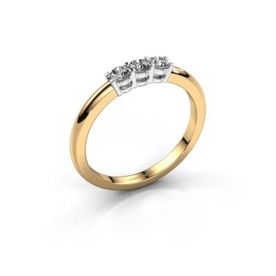 Foto van Verlovingsring Michelle 3 585 goud lab-grown diamant 0.30 crt