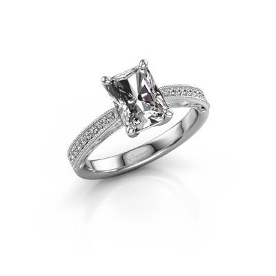 Verlovingsring Shonta RAD 950 platina diamant 2.13 crt
