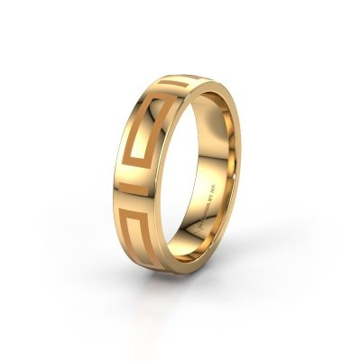 Wedding ring WH2228M25A 375 gold ±5x1.7 mm