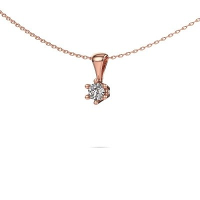 Foto van Ketting Fay 375 rosé goud lab-grown diamant 0.25 crt