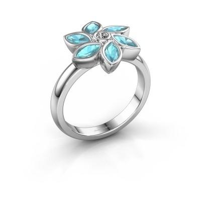 Ring Amina 925 zilver lab-grown diamant 0.03 crt