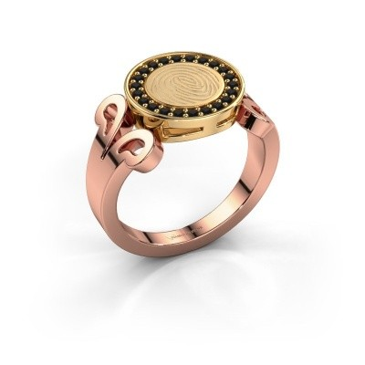 Ring Doret 585 rosé goud