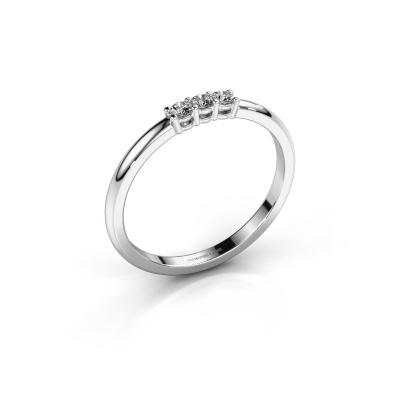 Bild von Verlobungsring Michelle 3 585 Weißgold Diamant 0.30 crt
