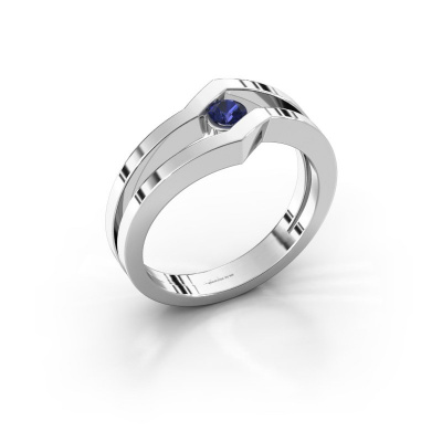 Ring Elize 925 silver sapphire 3.4 mm