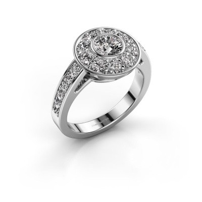 Foto van Verlovingsring Raven 2 585 witgoud diamant 1.35 crt