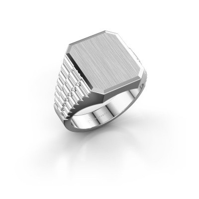 Foto van Rolex stijl ring Erik 3 585 witgoud