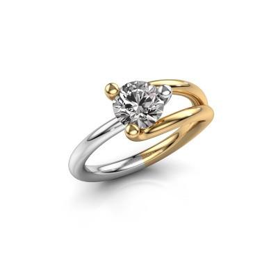 Photo de Bague Roosmarijn 585 or jaune diamant 1.00 crt