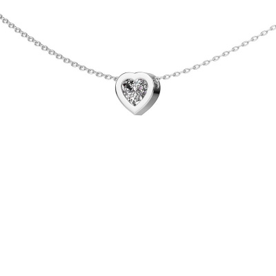 Picture of Pendant Lieke 585 white gold diamond 0.50 crt