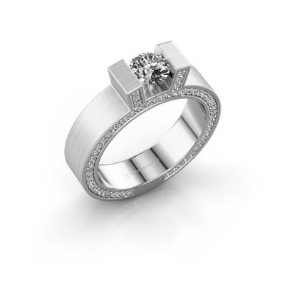 Bild von Ring Leena 2 950 Platin Diamant 1.08 crt