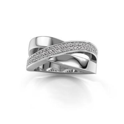 Foto van Ring Denisse 585 witgoud lab-grown diamant 0.335 crt