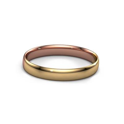 Slavenarmband Jane 10mm 585 rosé goud