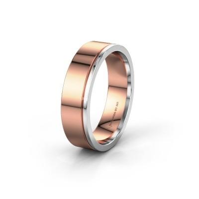 Wedding ring WH0500M16AP 585 rose gold ±6x1.7 mm