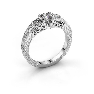 Picture of Promise ring Tasia 585 white gold diamond 0.70 crt