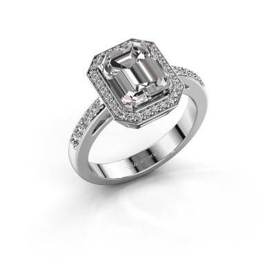 Foto van Verlovingsring Dodie 2 585 witgoud lab-grown diamant 2.779 crt