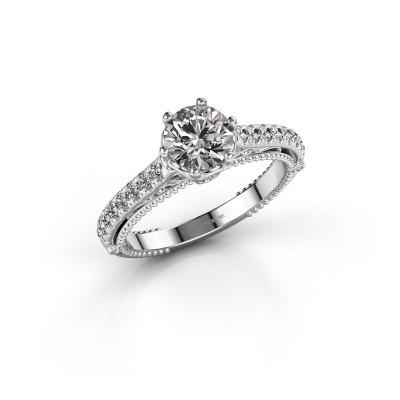 Foto van Verlovingsring Venita 585 witgoud diamant 1.345 crt