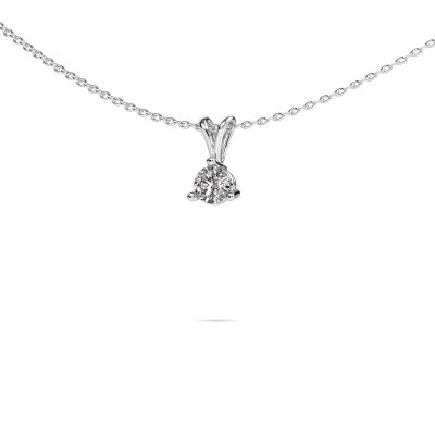 Picture of Pendant Somer 585 white gold diamond 0.25 crt