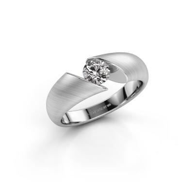 Photo de Bague Hojalien 1 925 argent diamant 0.50 crt