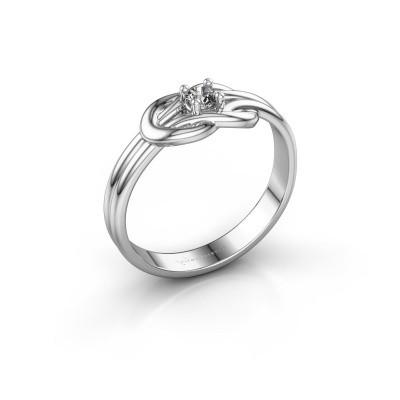 Foto van Ring Marina 925 zilver diamant 0.10 crt