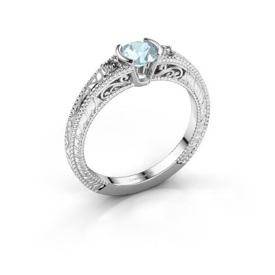 Picture of Engagement ring Anamaria 585 white gold aquamarine 5 mm