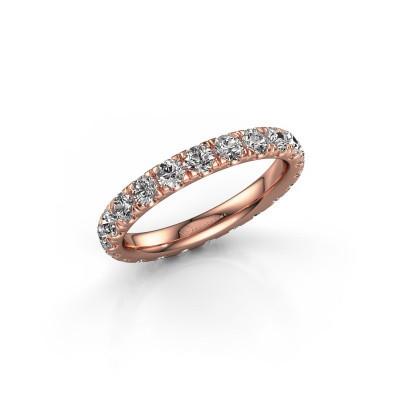 Foto van Aanschuifring Jackie 2.7 375 rosé goud lab-grown diamant 1.76 crt