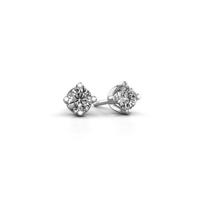 Foto van Oorknopjes Briana 950 platina diamant 0.25 crt