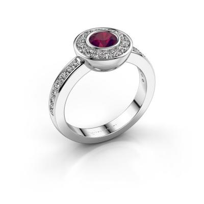 Ring Ivy 925 Silber Rhodolit 5 mm