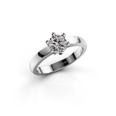 Verlovingsring Luna 1 950 platina diamant 0.50 crt