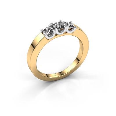 Verlobungsring Selina 1 585 Gold Diamant 0.50 crt