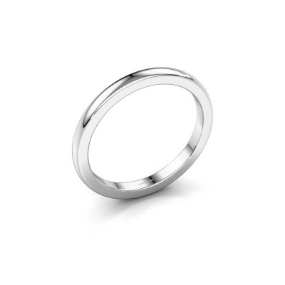 Picture of Stackable ring Astrid 2mm 585 white gold