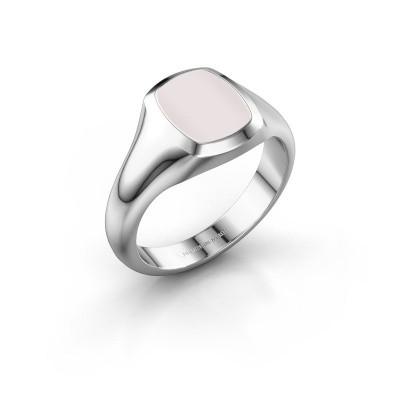 Signet ring Zelda 1 925 silver red sardonyx 10x8 mm
