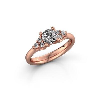 Bild von Verlobungsring Monika RND 375 Roségold Lab-grown Diamant 0.75 crt