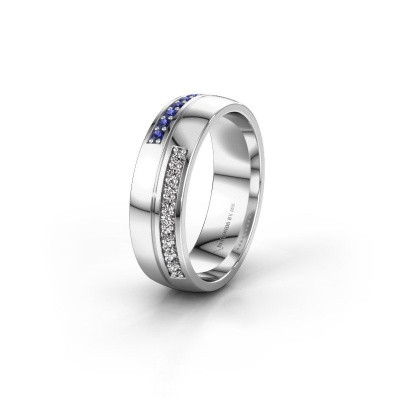 Ehering WH0213L26AP 925 Silber Saphir ±6x1.7 mm