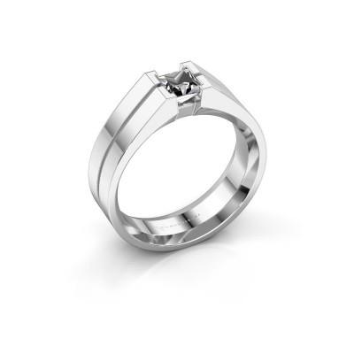 Foto van Heren ring Stefan 925 zilver diamant 0.50 crt