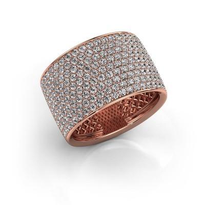 Foto van Ring Macy 375 rosé goud diamant 2.26 crt
